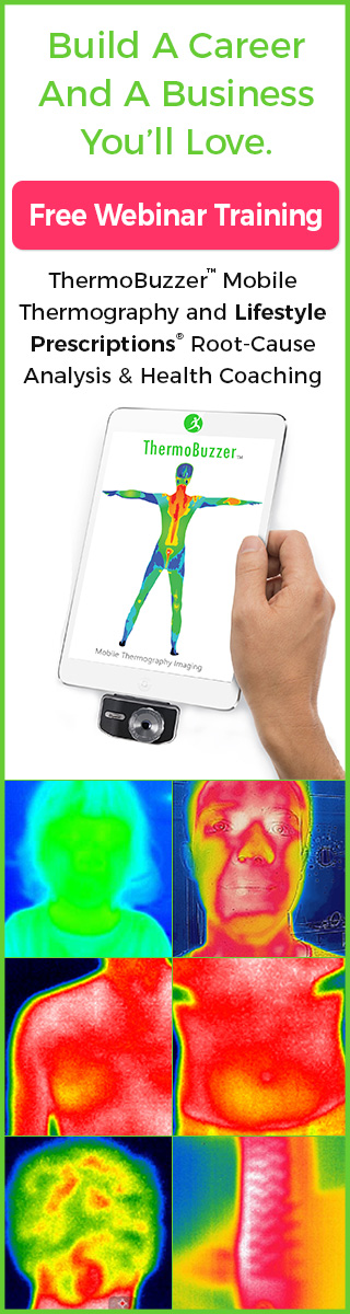 LifestylePrescription.TV ThermoBuzzer Mobile Thermography